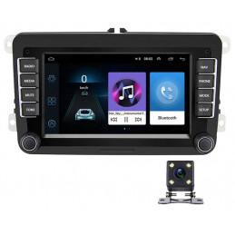 RADIO 2 DIN ANDROID 2GB+32GB VW GOLF V VI 5 6 PASSAT B6 B7